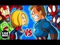 Captain America Hates Captain Marvel 【Marvel's Superheroes Parody】