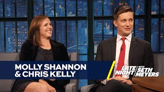 Molly Shannon Invited Chris Kelly to a Taco Party