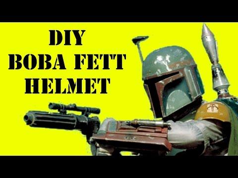 How to Make Boba/Jango Fett's Helmet (DIY)