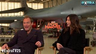 Jude Law Reveals His GF's Likely Reaction to Marvel Secrets