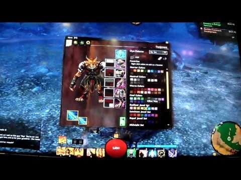 Guild Wars 2 demo dye colours