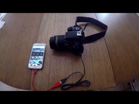 Importing photos from DSLR to smartphone with no WiFi even quicker!