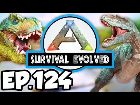 ARK: Survival Evolved Ep.124 - DODOREX SADDLE & FIGHTING BROODMOTHERS!!! (Modded Dinosaurs Gameplay)