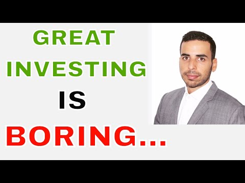 Great Investing is BORING - Stock Market beginners india - Trading shares India