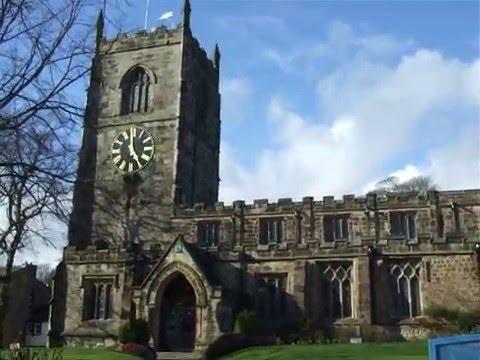 Skipton Holy Trinity Church Clock Chimes 5 o'clock