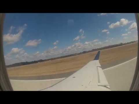 Flight Takeoff from Charleston, SC on Delta