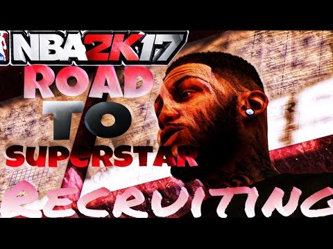 NBA 2K17 MyPark - Recruiting! I Need a Squad!!! Road to Superstar Grind!