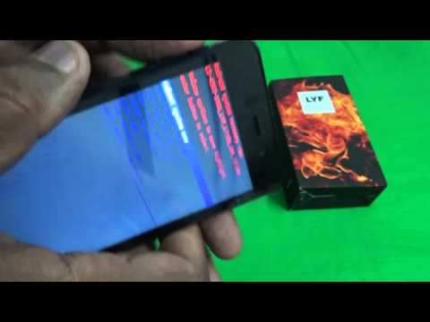 Hard Reset Reliance Jio 4G LYF LS-4503 FLAME 1 Android Mobile (Pattern Lock,forgot pasword Problem