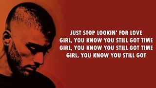 Zayn  Still Got Time Lyrics Ft Partynextdoor