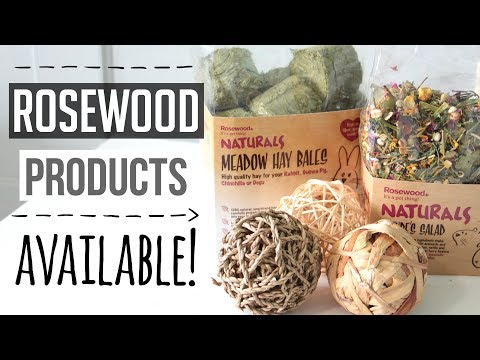 Rosewood Products Available!