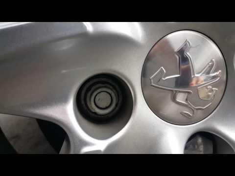 Peugeot 208 locking wheel nut removal