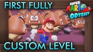 Capturing Dark Bowser in Super Mario Odyssey