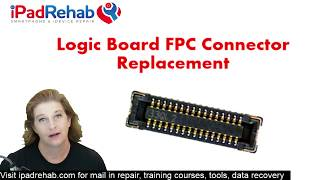 How to replace any iPhone logic board connector