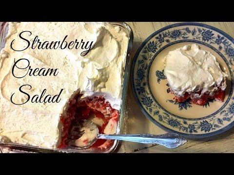 Strawberry Cream Salad