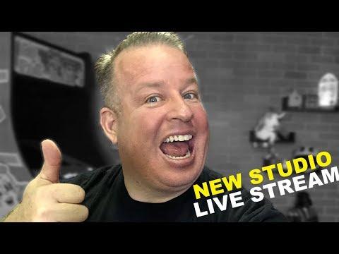 Testing! Testing! New Studio Live Stream!!