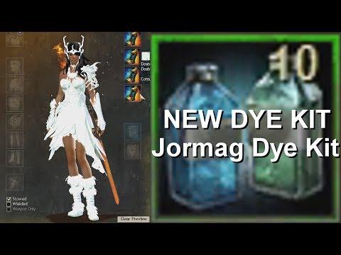 Woohoo New Dye Kit!  |  Gambling 10 X Jormag Dye Kit  |  Guild Wars 2