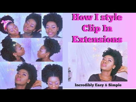 How I style Clip In Extension- Natural Looking //  Highly Recommended (Part 2)