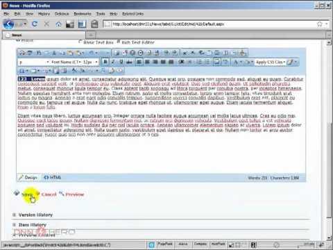 DotNetNuke Tutorial - Cross-page content sharing - Video #155