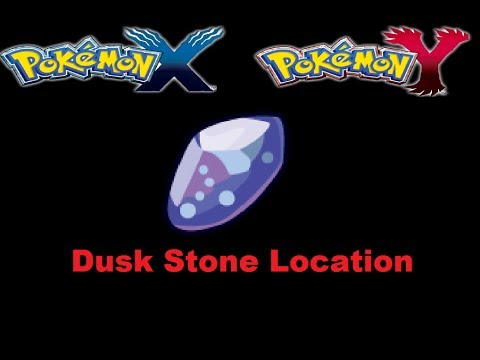Where To Find Dusk Stone Pokemon X and Y