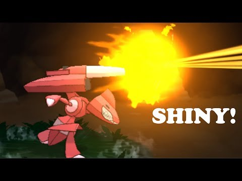 Pokemon X and Y - How To Get The Four Genesect Drives (Shiny!)