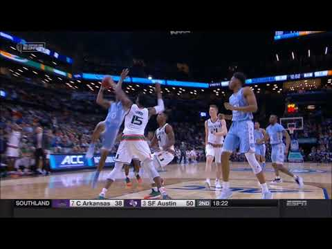 Blocking foul called - Outside the restricted area