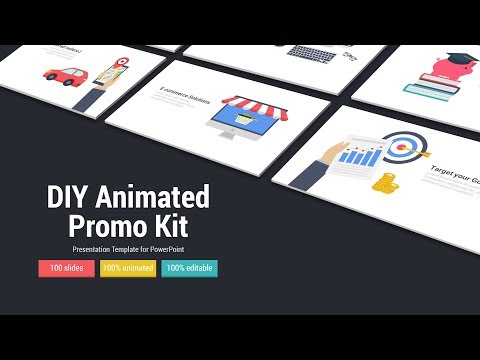 DIY Animated Promo Kit - A PowerPoint Presentation Template