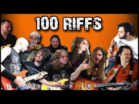 100 Greatest Riffs w/ Special Guests   Suggested by YOU Teaser