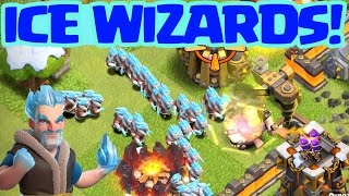 Clash of Clans Update: ICE WIZARD! ♦ CoC ♦