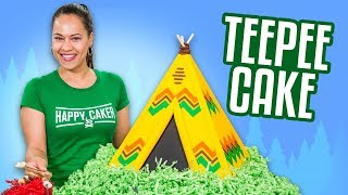 TeePee Cake & HUGE ANNOUNCEMENT!!  | How To Cake It