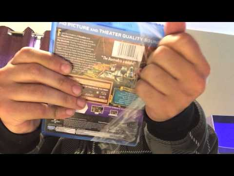The Boxtrolls 3D Blu-Ray Unboxing