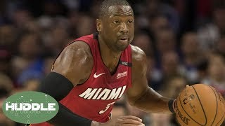 Dwyane Wade's INSANE Performance Was Inspired by Kevin Hart And Allen Iverson!   Huddle