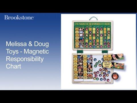 Melissa & Doug Toys - Magnetic Responsibility Chart