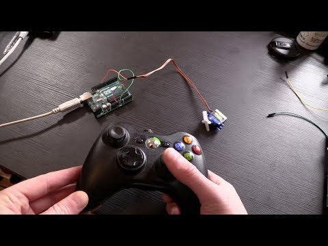 Using a Game Controller with Arduino and Processing