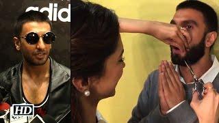 Ranveer REACTS after Deepika Cuts off his Moustache