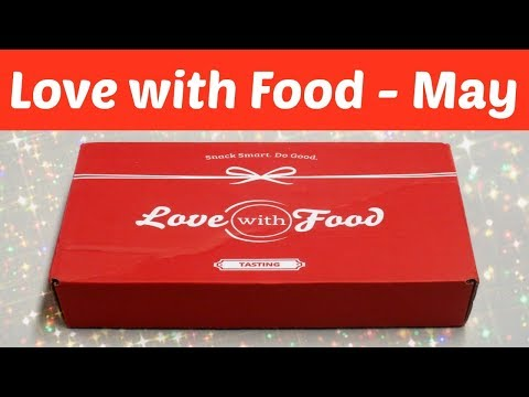 Love With Food Unboxing - May 2018 + Promo Codes!