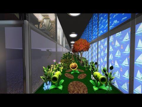 The Sims 3 LIVE! Building/Decorating a Bunker House - Part 17 Secret Garden