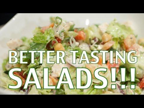 Making Salads Taste Better (How to be Healthy)- BenjiManTV