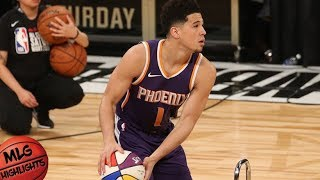 Devin Booker Full Three Point Contest / Feb 17 / 2018 NBA All Star Weekend