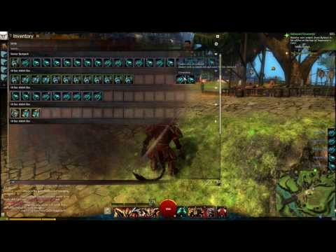 Guild Wars 2 Opening 50 Unidentified Dyes