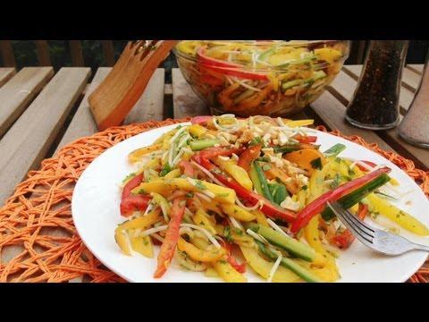 Thai Inspired Mango Salad - GetFitWithLeyla