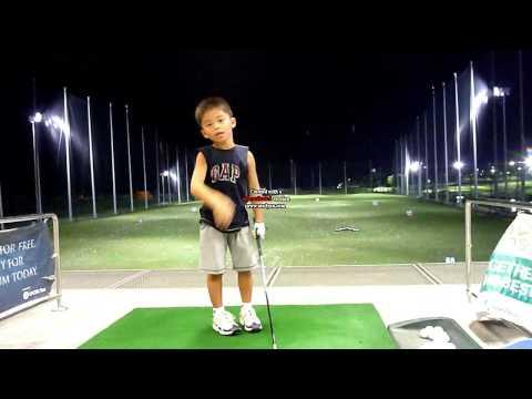 Junior golf swing - how to swing a hybrid club