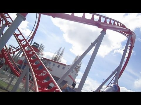 G Force Front Seat on-ride HD POV Drayton Manor