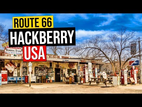 ROUTE 66 Hackberry General Store, Arizona. (Road Trip USA #2)