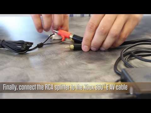 How to set up your headset with the new Xbox 360 E