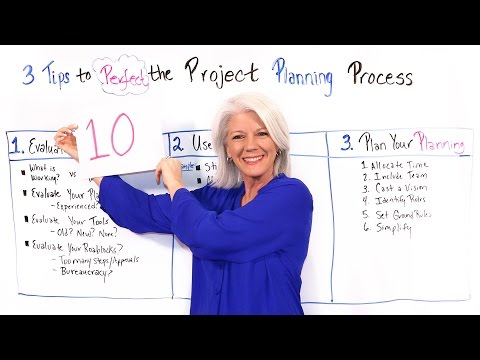 3 Tips to Perfect the Project Planning Process - Project Management Training