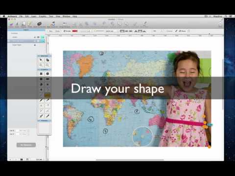 Mask and Crop Images with Vector Shapes in Artboard (Mac OS X)