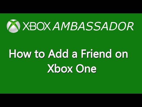 How To Add a Friend on Xbox One | Xbox Ambassador Series