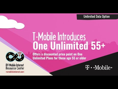 T-Mobile Introduces 'One Unlimited 55+' - Discounted Smartphone Plan for Seniors