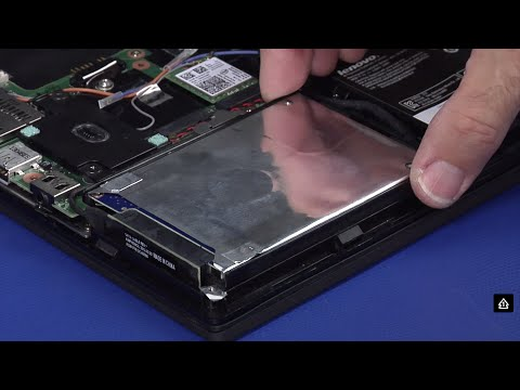 ThinkPad X240, X250 - Hard Disk Drive and Solid State Drive Replacement