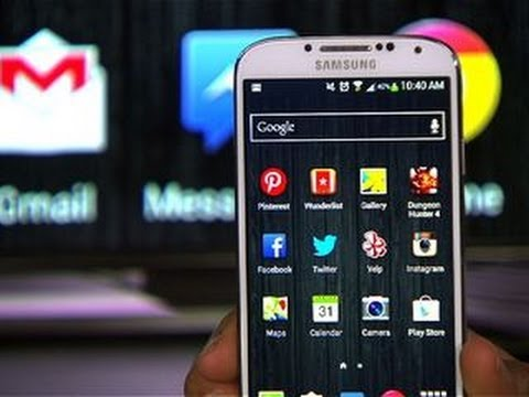 CNET How To - Mirror your Galaxy S4 on your TV